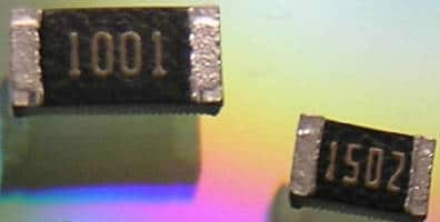 Thin Film Precision Chips resist sulfur and moisture.