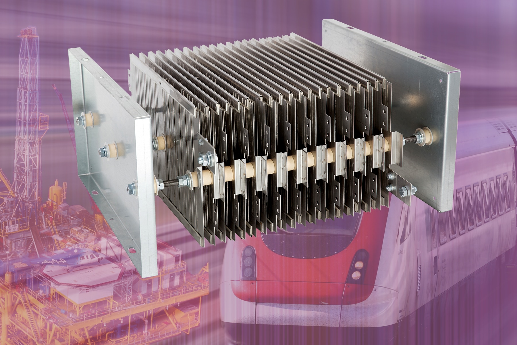 Grid Resistors With Welded Construction And Double Insulation