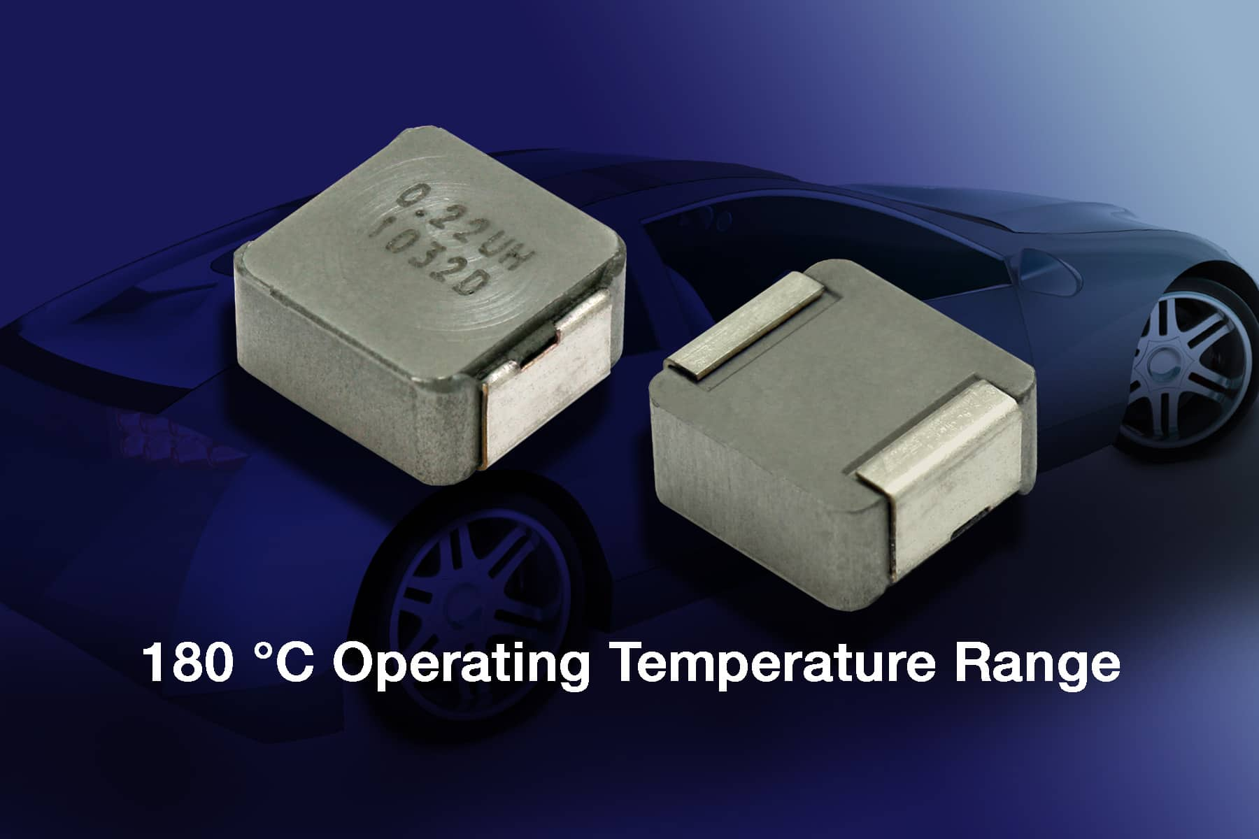 Low-Profile, High-Current Inductor For Automotive Systems