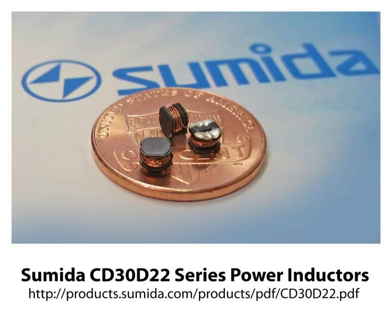 Power Inductors Designed For Portable Device