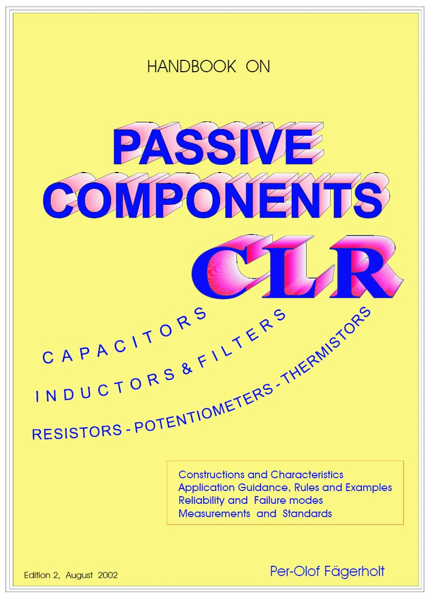 EPCI has obtained rights to use the CLR Passive Components Handbook