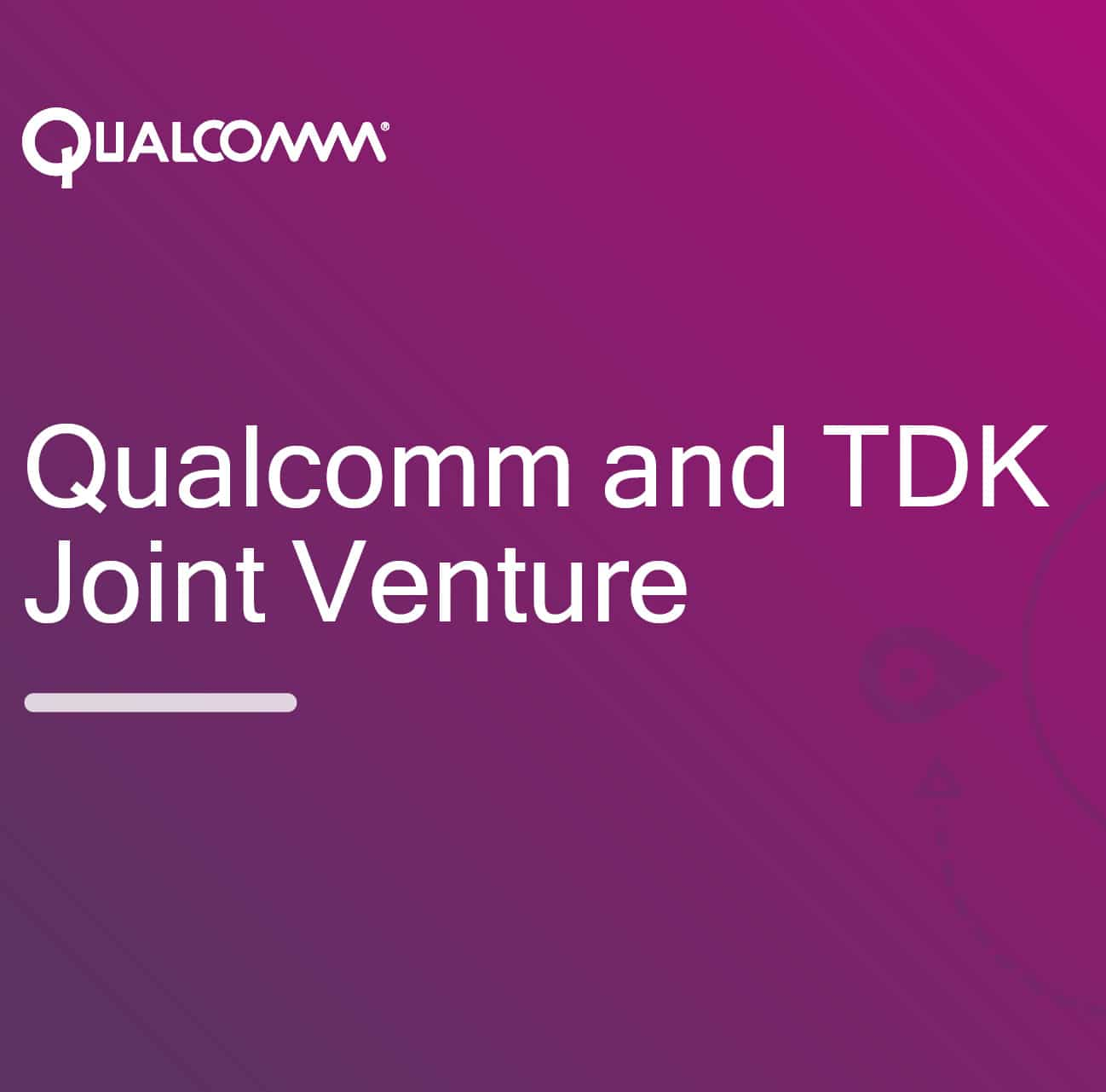 Qualcomm and TDK Form New Company Around RF Filters and Front-Ends