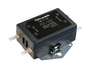 TDK EMC Filter: Single-phase EMC Filter RSEC-2006 With Faston Terminals