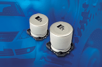 Vishay Extends Voltage Range for Automotive Grade SMD Aluminum Capacitors