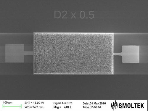 Carbon Nanofibers Yield On-Chip Mini-Supercaps