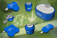 Vishay Offers New Application Notes on CV Pulse Charging of Their SuperCapacitors