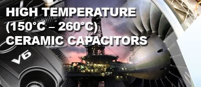 KEMET Expands 200 Degree Celsius High Voltage MLCC Capacitor Products
