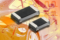 Vishay Anti-Surge Thick Film Chip Resistors Combine Superior Pulse and ESD Handling