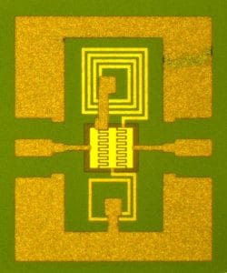 Unruly material tamed for on-chip tuning capacitors
