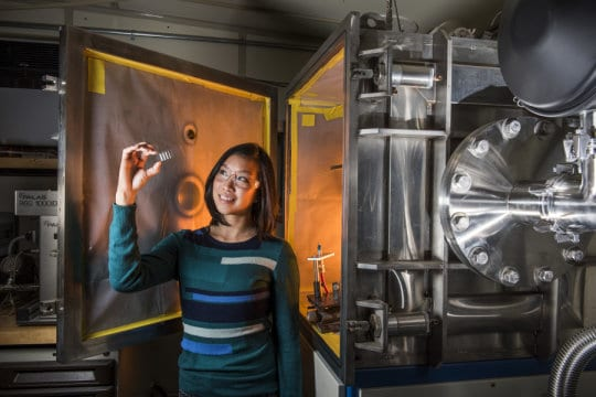 Researcher using kinetics, not temperature, to make ceramic coatings