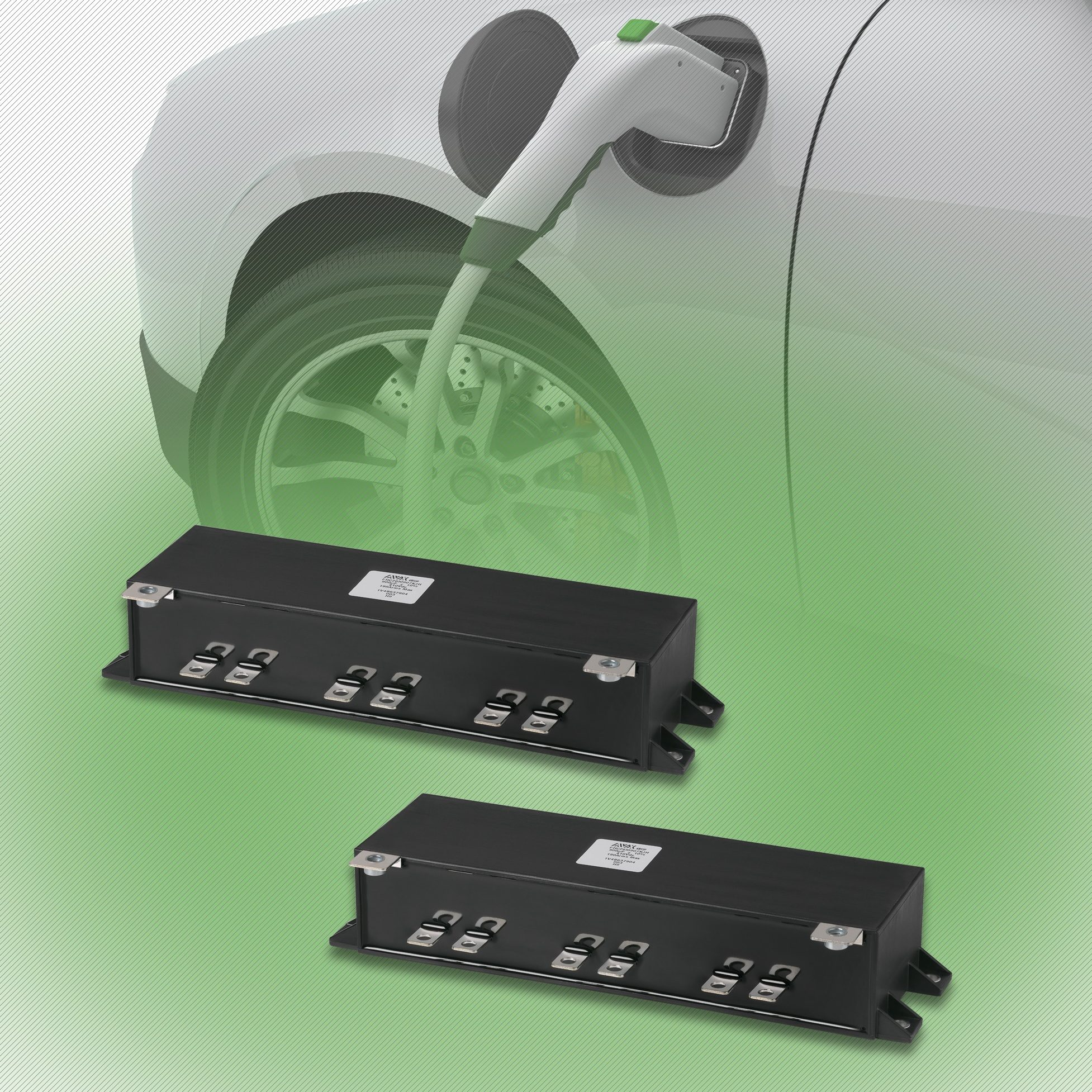 AVX Releases New FHC1 & FHC2 Series Power Film Capacitors for EV/HEV Applications