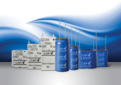 CAP-XX Adds Compact Cylindrical Supercapacitors to Its Existing Thin Prismatics to Power IoT Devices