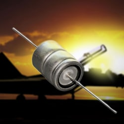 Cornell Dubilliers's Ruggedized Axial-Leaded Aluminum Electrolytic Capacitors for -40 ° to +150 °C
