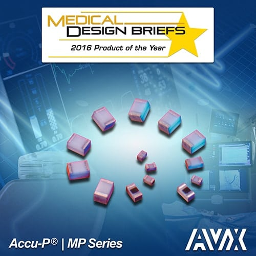 AVX Medical Design Briefs 2016 Readers' Choice Product of the Year Award