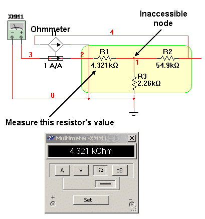 Embedded Resistance Measurement