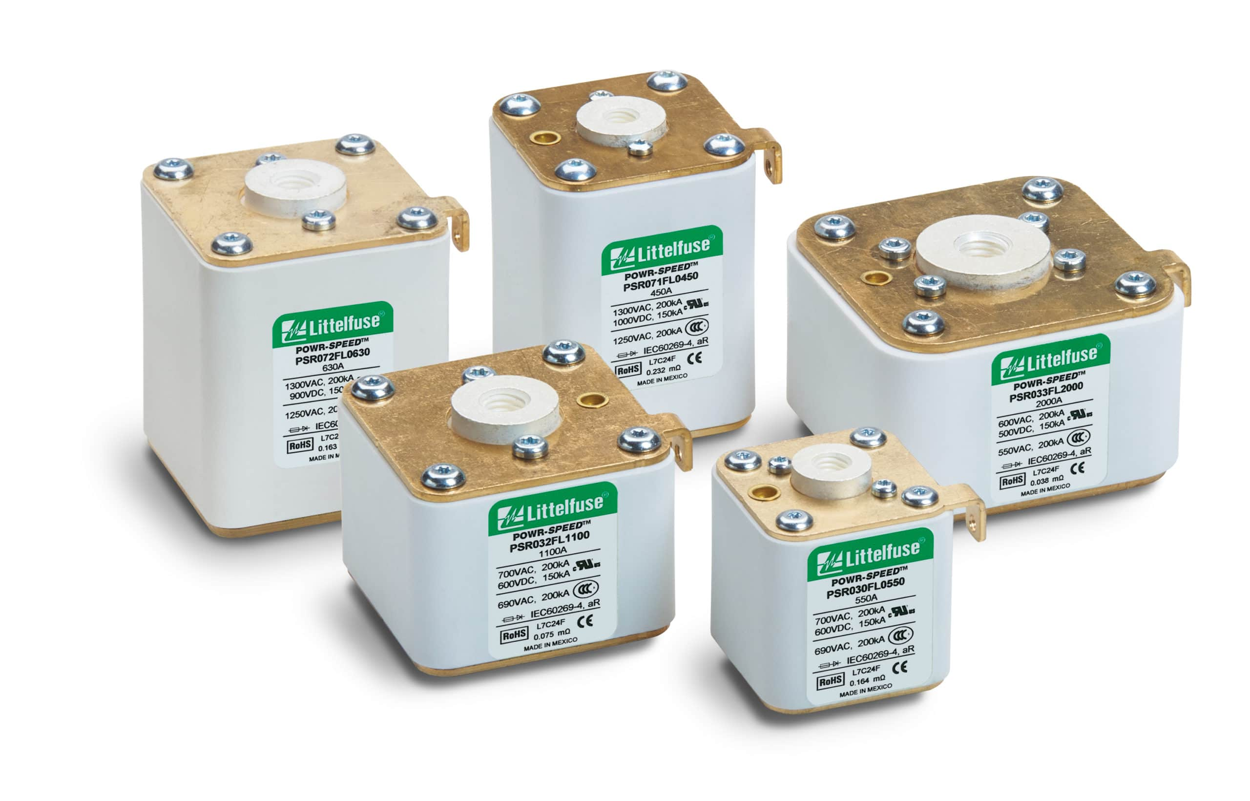 Littelfuse Expands Award-winning High-Speed Fuses for Semiconductor Device Protection