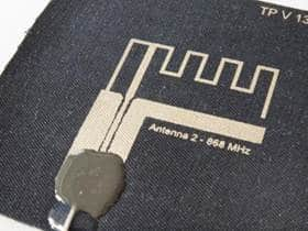 Embroidered Smart Textiles Electronic Components in Life Saving Applications.