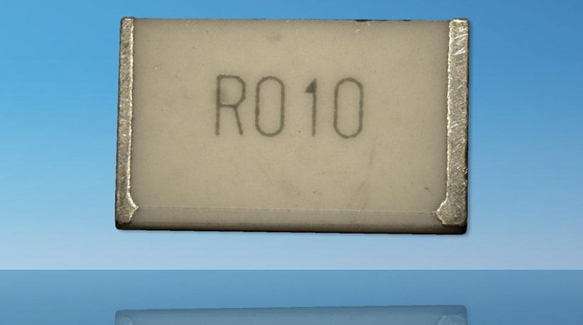 Higher power chip resistors extend current sense range from TT Electronics