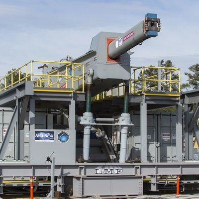 The US Navy's Railgun Breakthrough Could Change Energy Storage