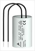 TDK Film capacitors: Motor run capacitors for 100 °C