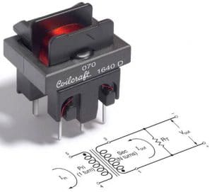 Coilcraft's 40A current sense transformers to AEC-Q200