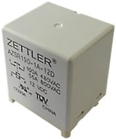 New PCB Power Relays from Zettler Electronics for Solar inverter applications