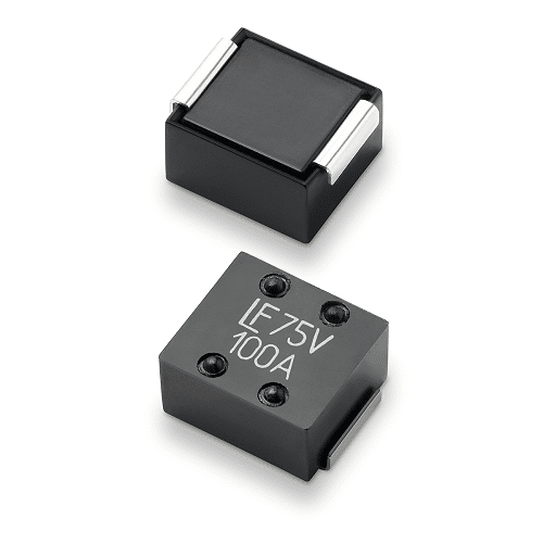 Surface-mount fuses rate to 100 A in a single device
