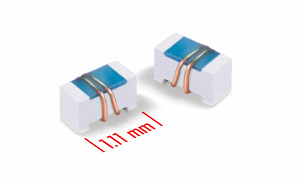 Coilcraft's New 0402-sized Ceramic Chip Inductors Provide Q Factors up to 162 at 2.4 GHz