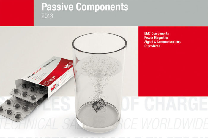 Würth Elektronik eiSos presents its 2018 Product Catalog New & Innovative Passive Components