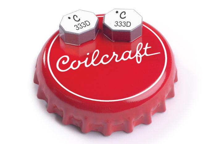 Coilcraft New High-voltage Coupled Inductors