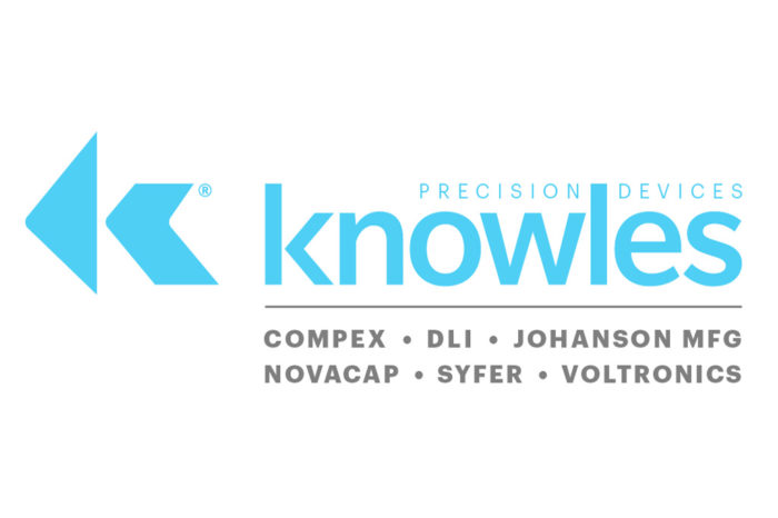 Knowles renames capacitor division as Knowles Precision Devices