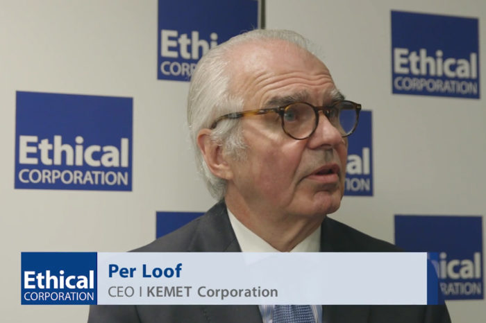 Per Loof, CEO of Kemet, on delivering industry-wide change for Ethical Corporation