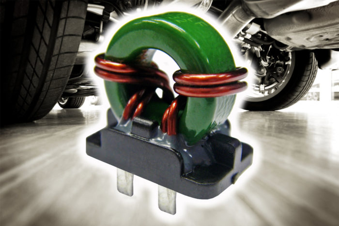 TT Electronics Common mode chokes for automotive EPS noise suppression applications