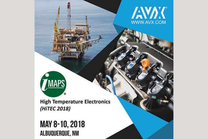 AVX is Showcasing High-Temperature Capacitor Solutions at HiTEC 2018