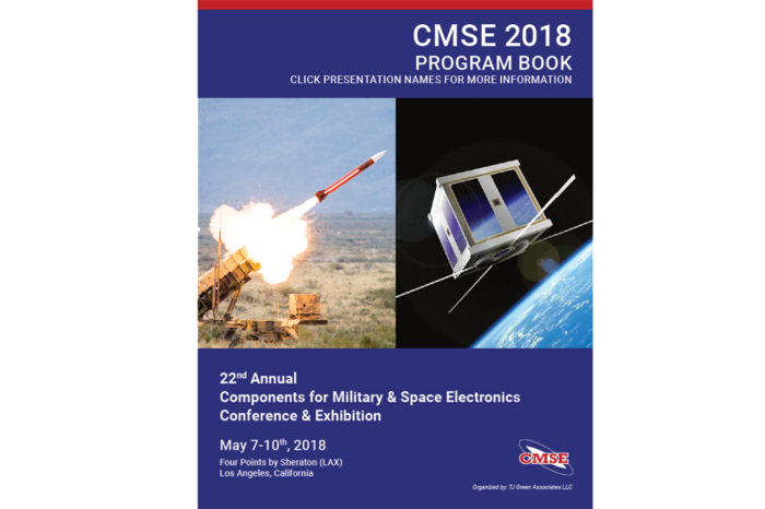 22nd Annual Components for Military & Space Electronics final program issued