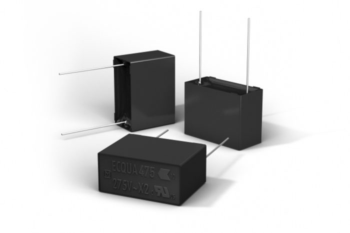 Panasonic new metallized polypropylene film capacitors feature high safety and high humidity resistance