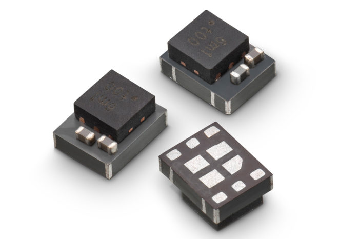 Step Down Converter, Inductor and Capacitors in a Compact Package