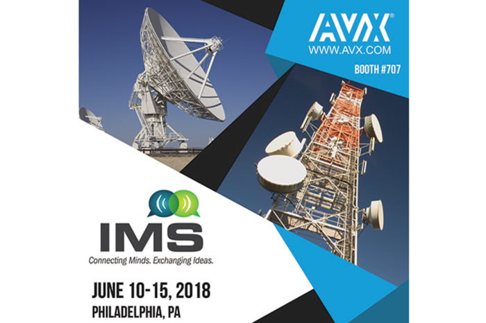 AVX is Showcasing its Extended Portfolio of High-Performance Microwave & RF Solutions at IMS 2018