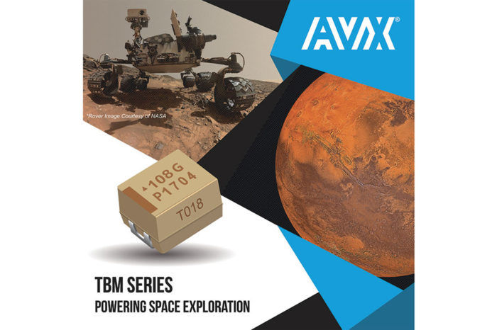 AVX Celebrates the Continuing Success of the ChemCam on NASA's Curiosity Rover, Which is Enabled in Part by 630 AVX Capacitors