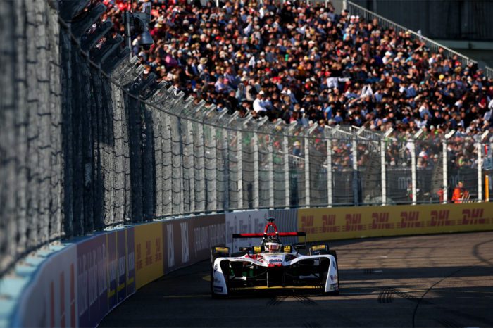 Double victory for Audi Sport ABT Schaeffler at formula E