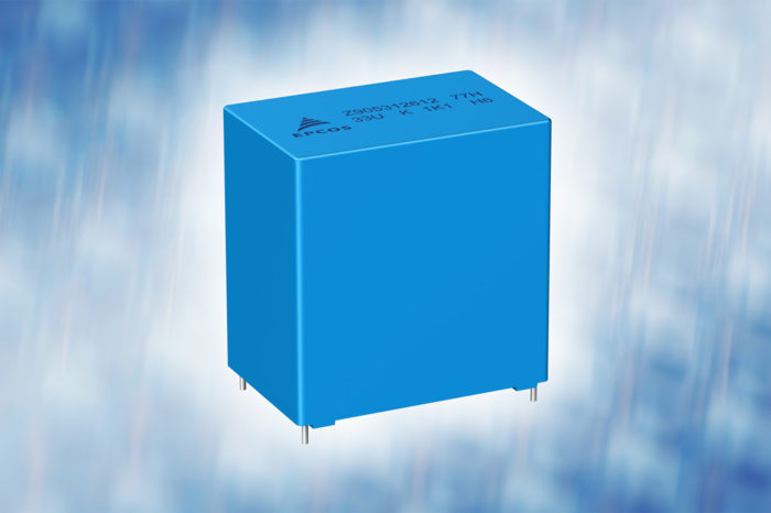TDK Film capacitors: Range of rugged DC link capacitors extended