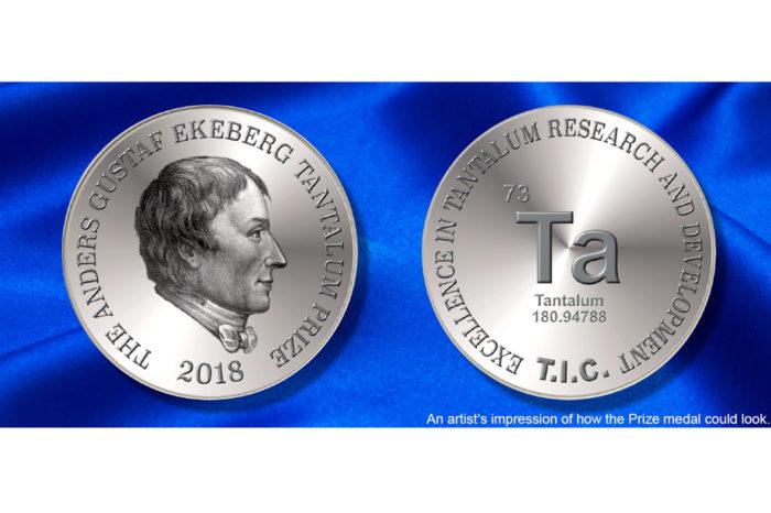 A.G. Ekeberg Tantalum Prize: Call for presentations