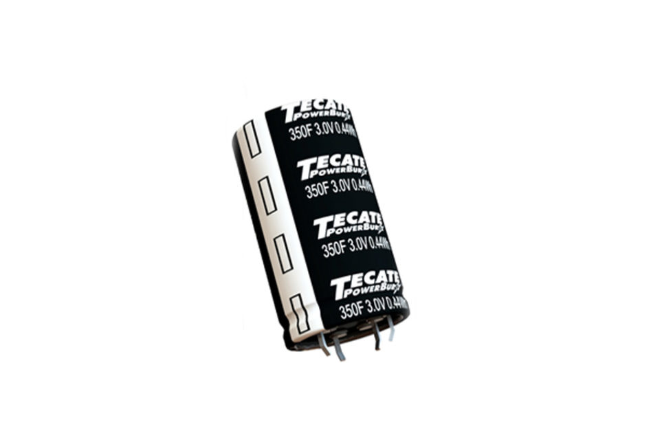Tecate Group Announces Industry-Leading 3-Volt Family of Ultracapacitors