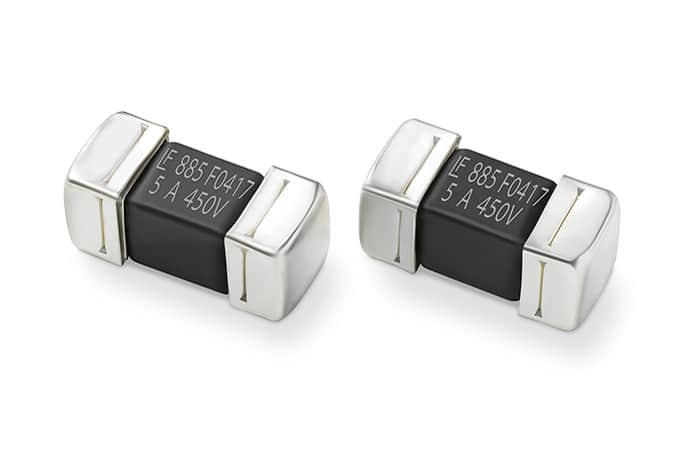 Littelfuse 500VDC SMD Fuse for Electric Vehicle Offers Short-Circuit Protection Up to 1500A