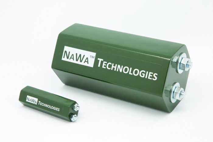 Nawa ultra-capacitor hybrid radically boosts power and efficiency of lithium batteries