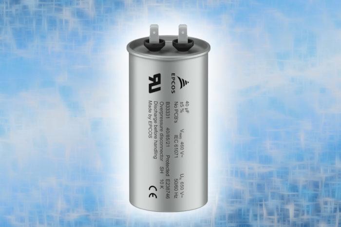 TDK Film capacitors: Compact and robust AC filter capacitors