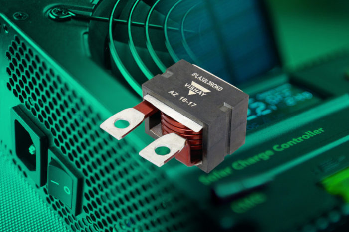 Vishay's New High Current Planar Choke Inductor Delivers Same Performance as Wirewounds in Fraction of Space