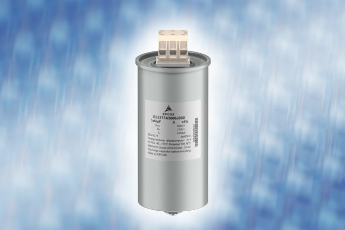 TDK Introduces Robust 3-phase Filter Film Capacitors