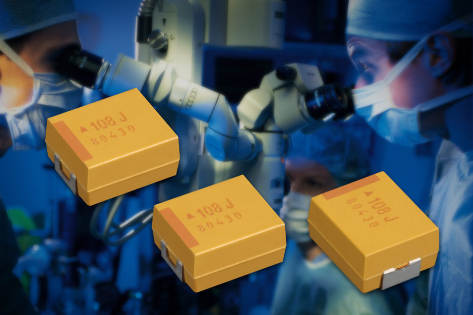 Capacitors for critical and non-critical medical applications