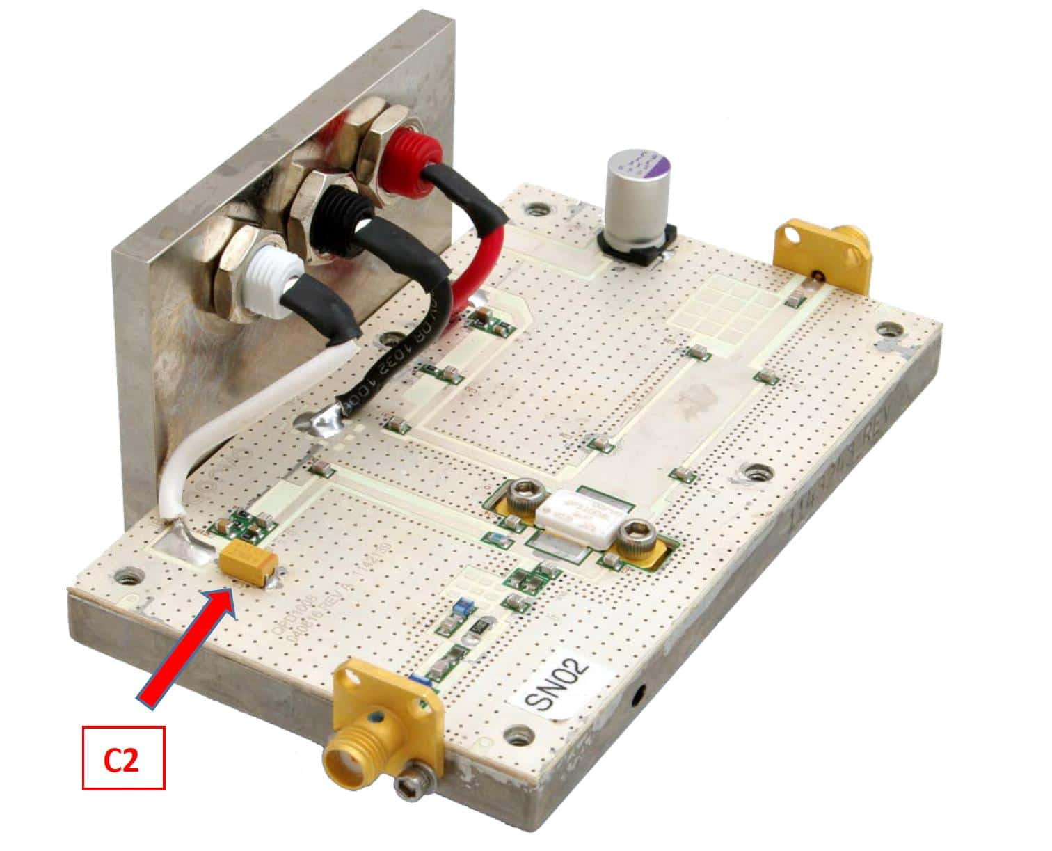Ideally The Power Capacitor Should Be As Close As Possible To The